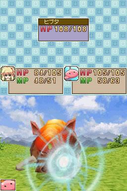 Sekai wa Atashi de Mawatteru battle screen shot