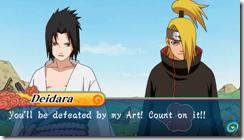 Slide demo_Sasuke VS Deidara