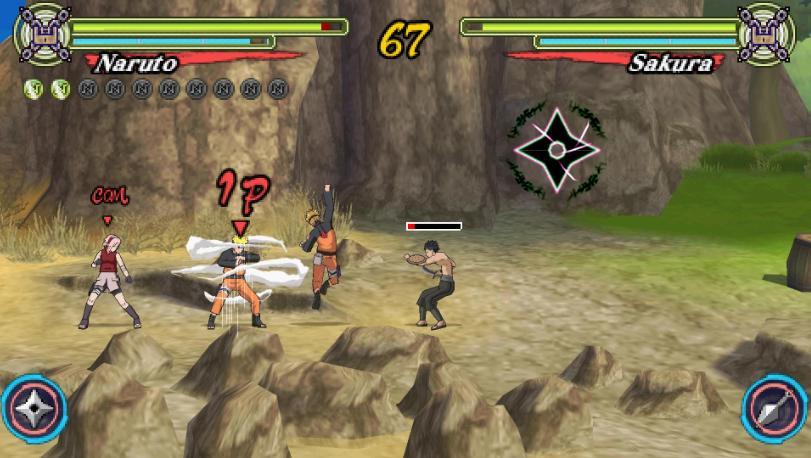 Naruto Shippuden Ultimate Ninja Heroes 3 Hyperactive And Repetitive Ninjutsu Siliconera