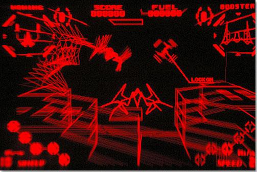 Red Alarm on Virtual Boy