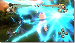 PS3_FreeBattle_Combo_AkatsukiSasuke vs Naruto_01