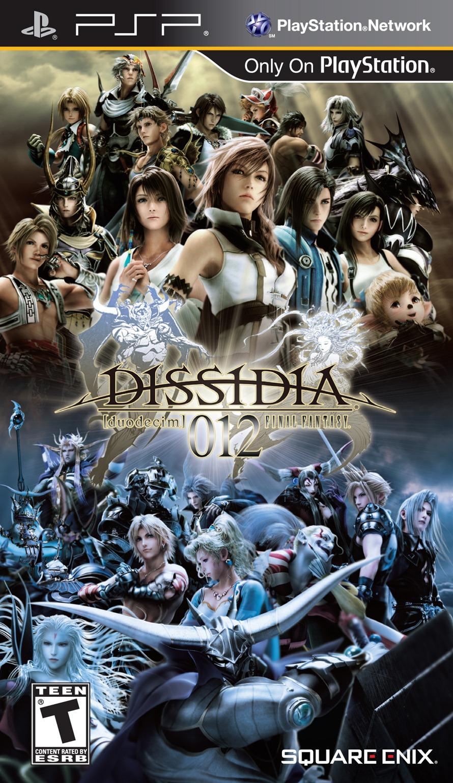 Dissidia 012[duodecim]: Final Fantasy's Box Art Is A Bit Busy - Siliconera