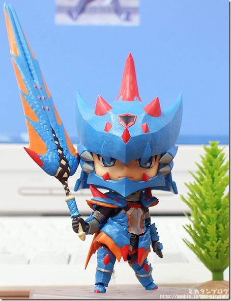 Monster Hunter Tri G S Male Swordsman Gets Lagiacrus Armour