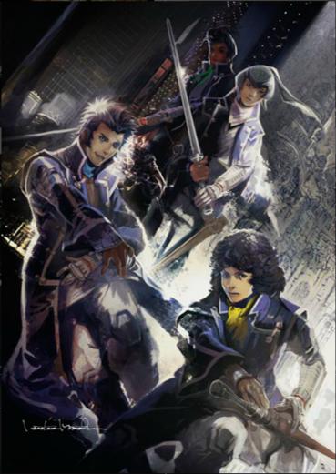 Saga Final Fantasy And Tales Artists Create Shin Megami Tensei Iv Artwork Siliconera His first major role was field graphics design on final fantasy v (1992). shin megami tensei iv artwork