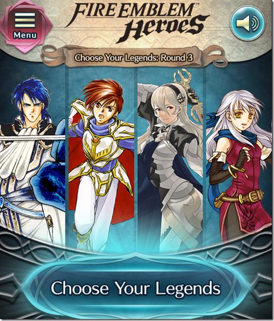 choose your legends