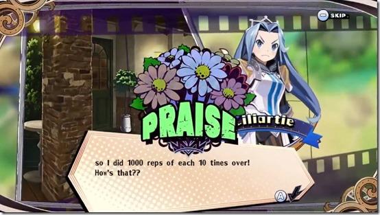 the princess guide praise scold