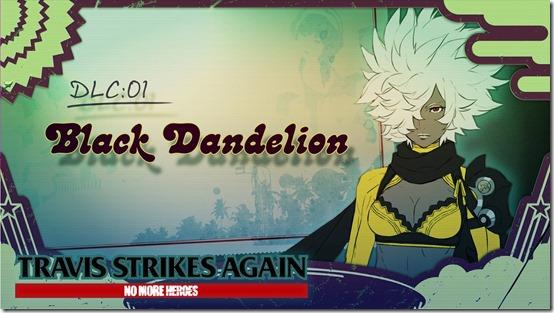 black dandelion 1