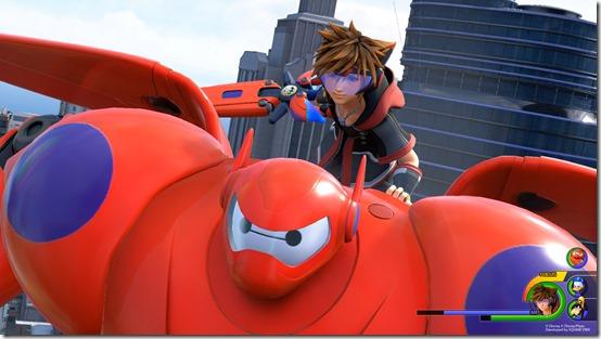 kingdom hearts iii big hero 6 baymax 2