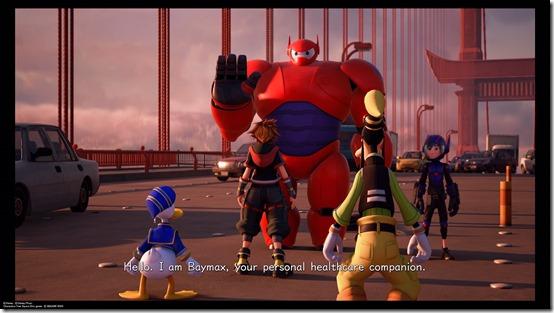 kingdom hearts iii big hero 6 baymax