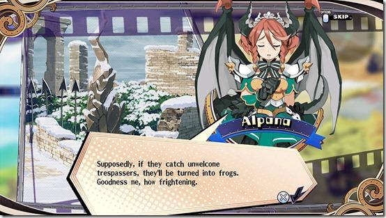 alpana the princess guide