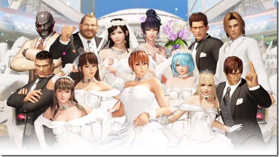 dead or alive 6 happy wedding