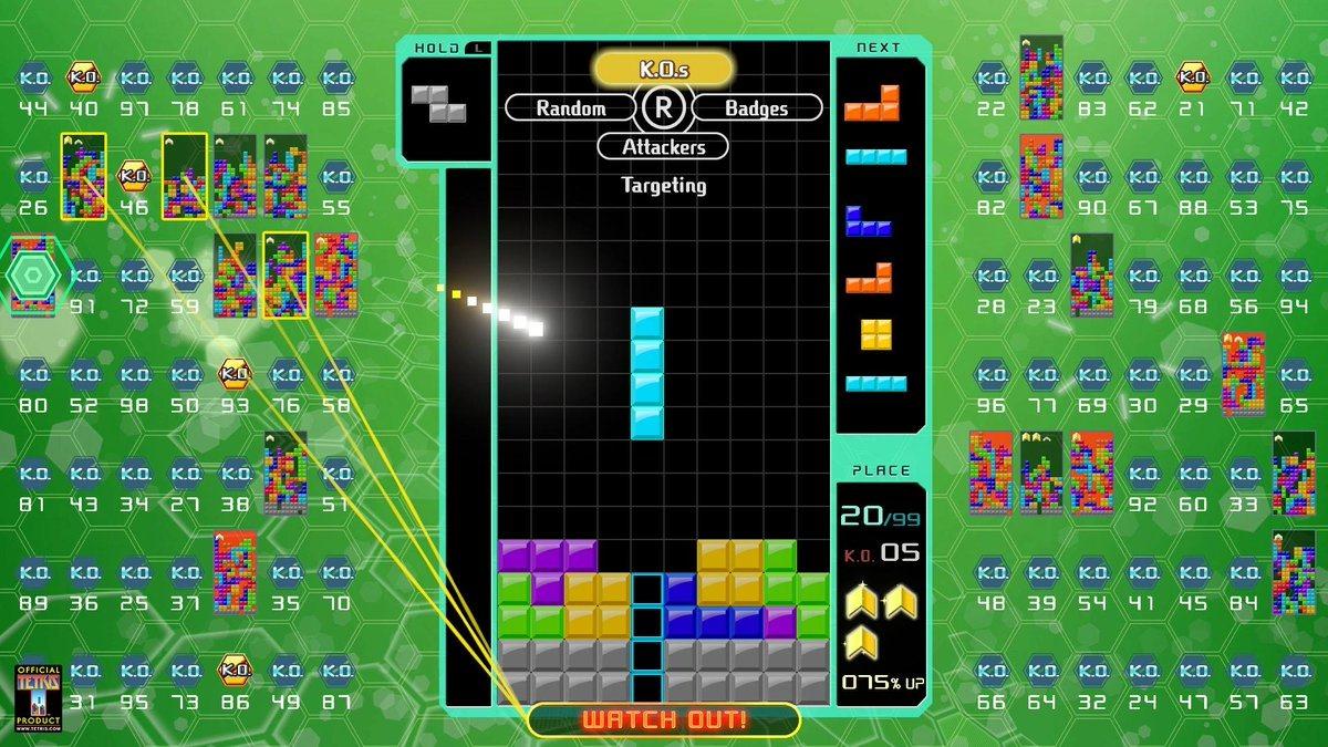Tetris 99 S New Big Block Dlc Adds Offline Modes Including Cpu Battle And Marathon Mode Siliconera