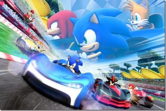team sonic racing importa