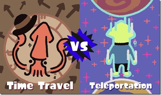 time travel teleportation