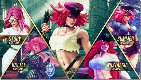 Street Fighter V Arcade Edition E.Honda, Poison, Lucia (1)