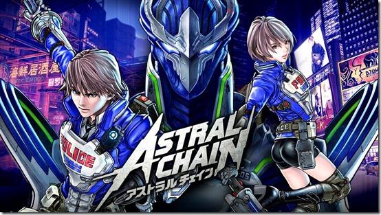 astral chain art