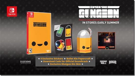Enter the Gungeon - Retail Edition Items