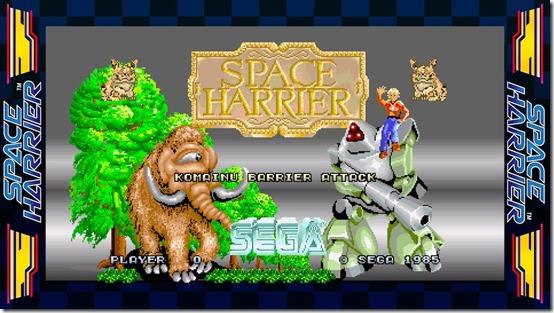 sega ages space harrier 1
