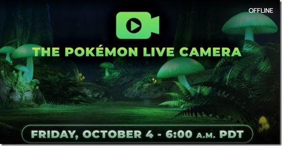 pokemon sword and shield live camera
