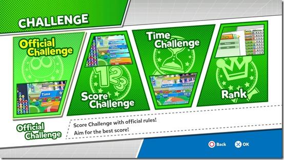 puyo puyo champions challenges