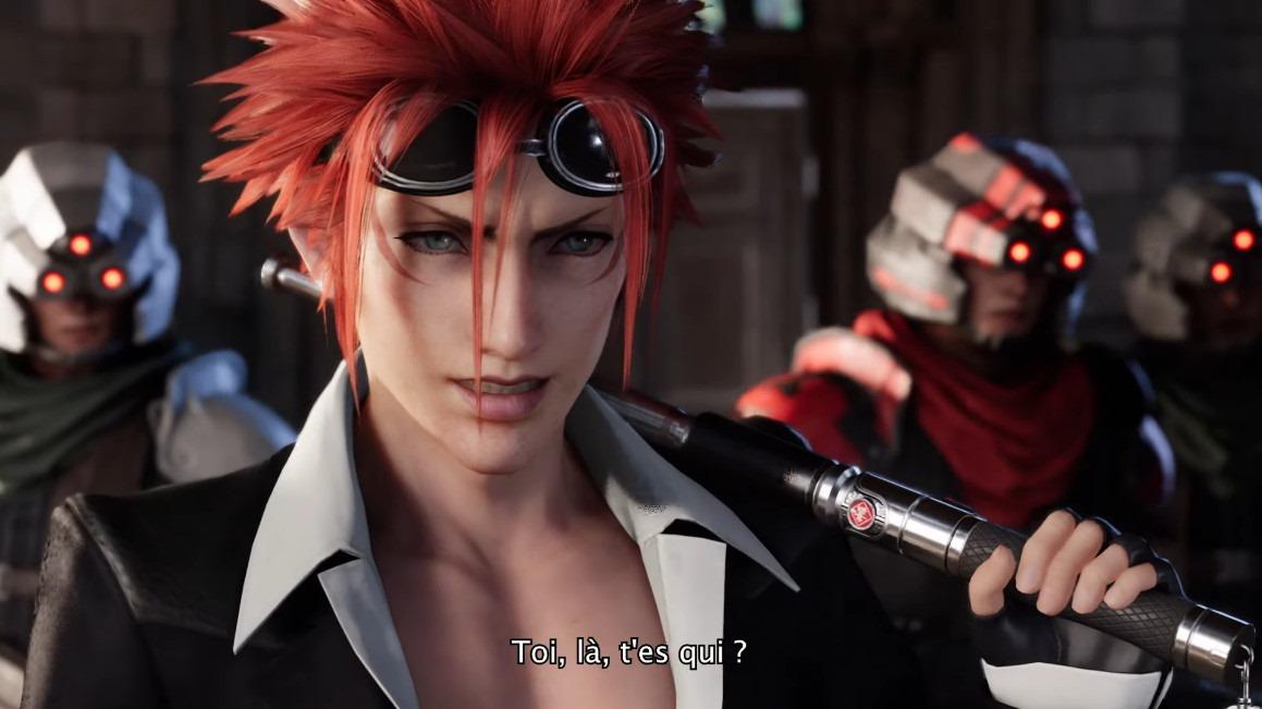 Final Fantasy Vii Remake Debuts A French Dubbed Trailer Siliconera