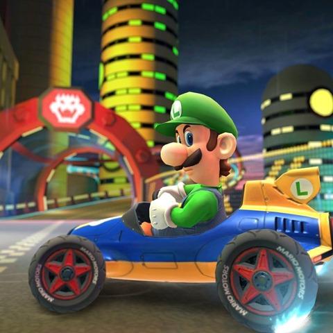 Luigi Luigi S Death Stare Waluigi And Their Courses Are