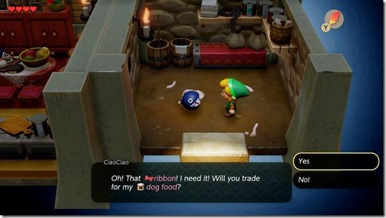 the legend of zelda link's awakening trading sequence 3