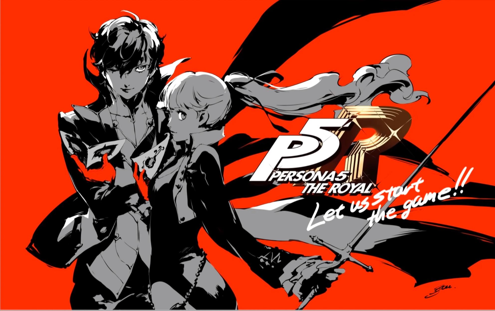Persona 5 Royal Gets A Special Illustration Video By Shigenori Soejima Siliconera
