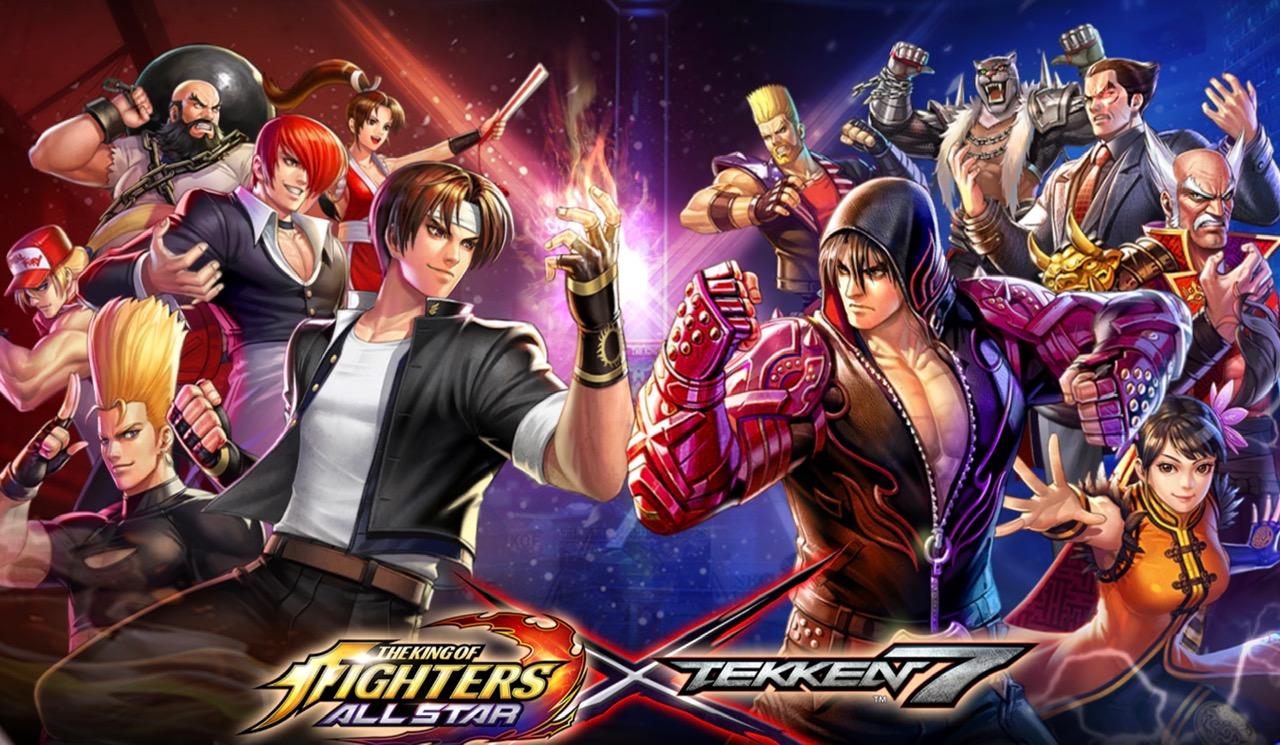 The King Of Fighters Allstar Tekken 7 Crossover Has Begun Siliconera
