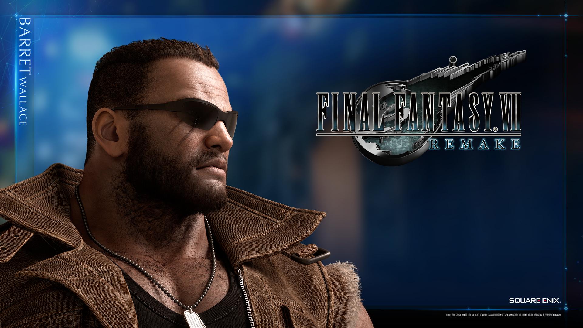Final Fantasy VII Remake Wallpapers
