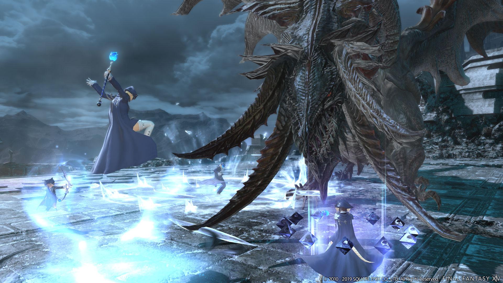Final Fantasy XIV Blue Mage Update