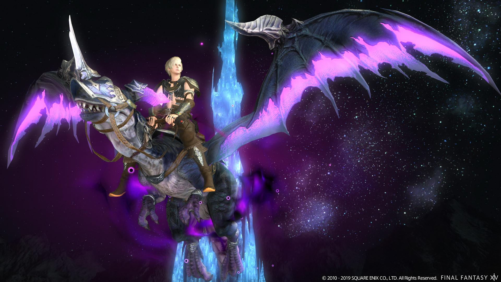 Final Fantasy XIV Patch 5.15 New Mounts