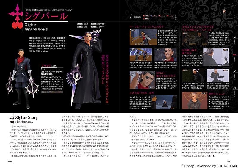 Kingdom Hearts Series Character Files