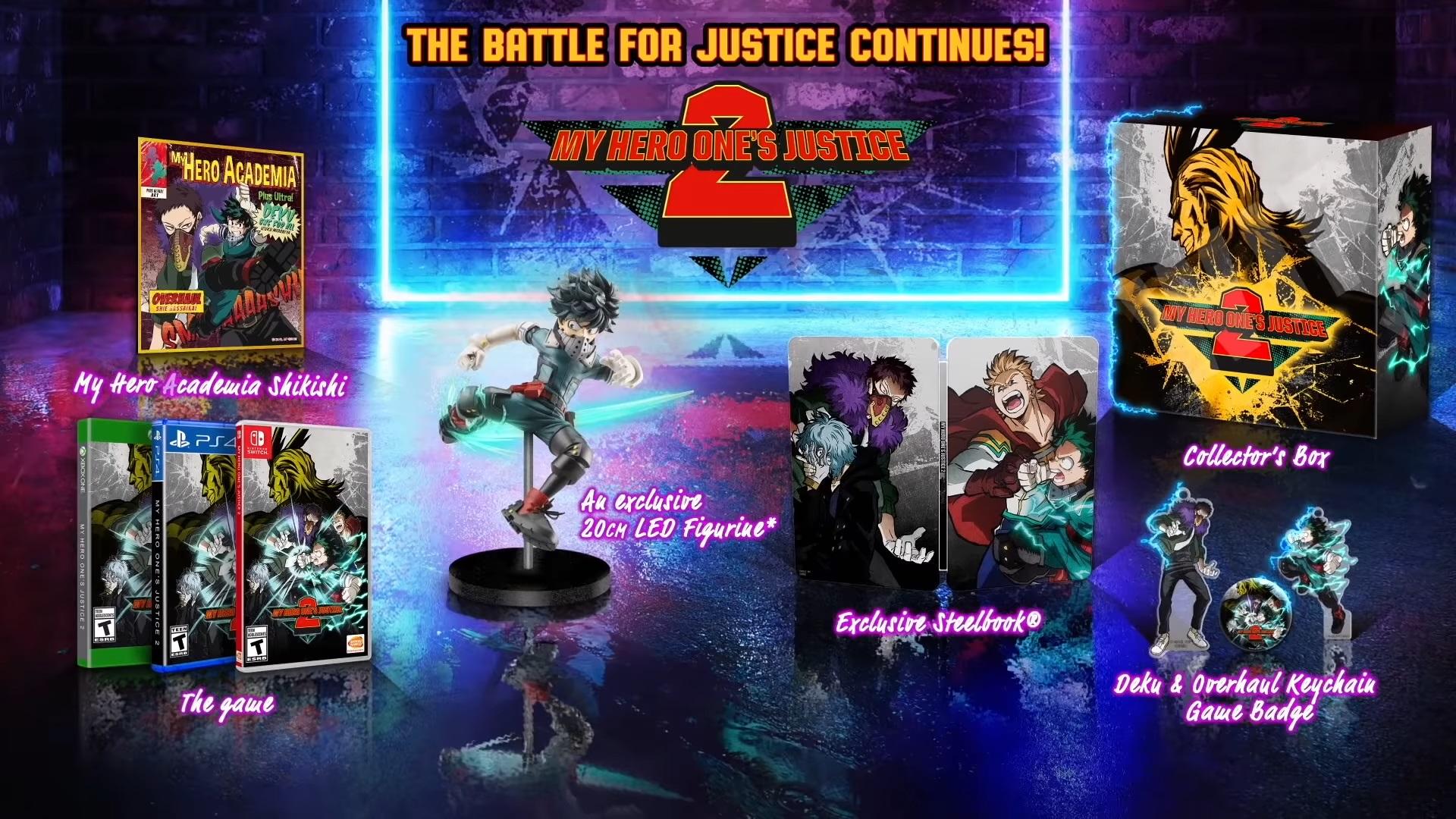 My Hero Ones Justice 2 Collectors Edition