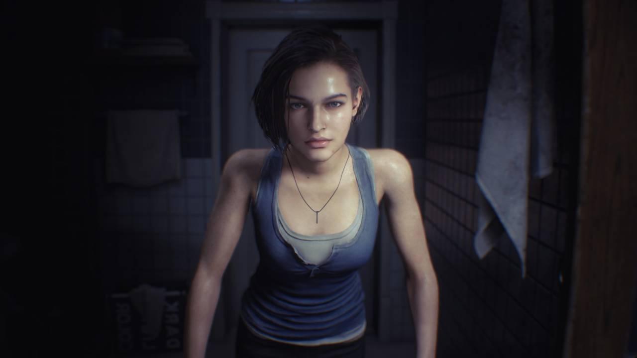 The Resident Evil 3 Jill Face Model Is Sasha Zotova