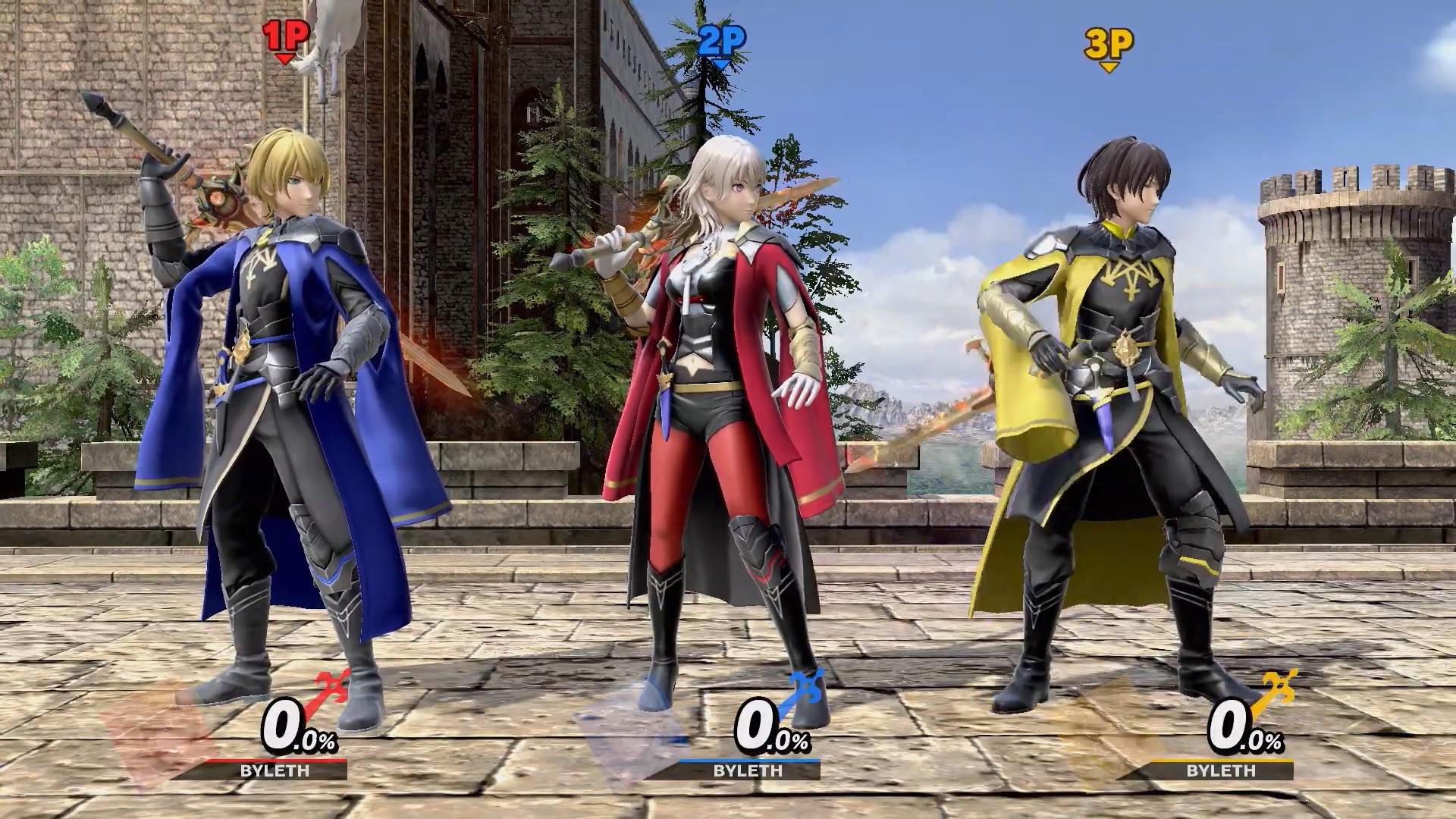 Super Smash Bros Ultimate Byleth 2