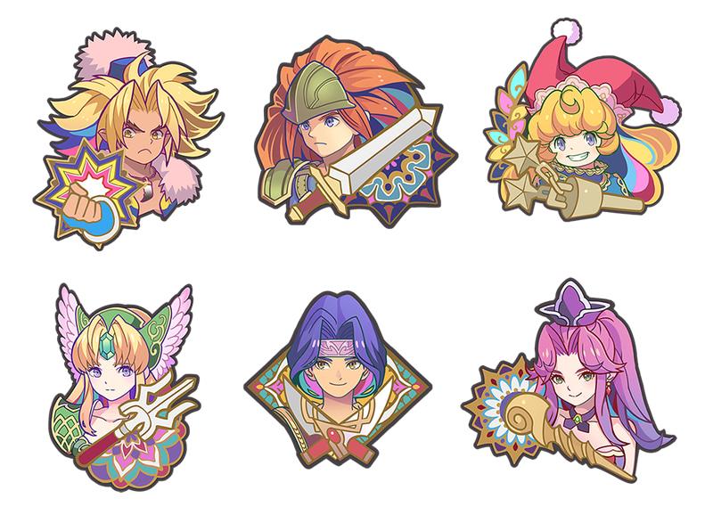 Trials of Mana pins