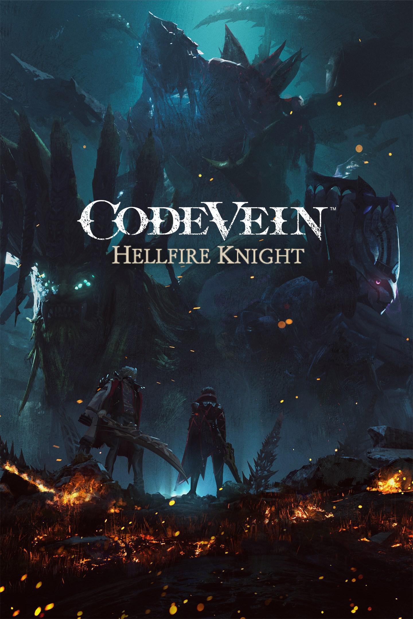 code vein hellfire knight code vein dlc