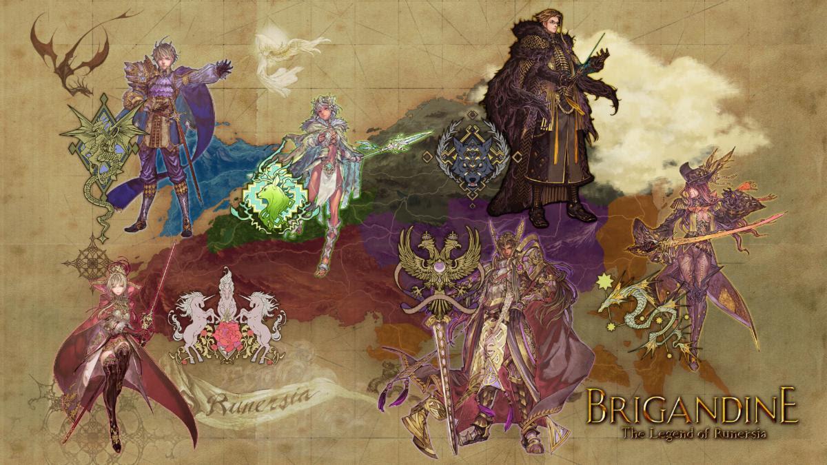 Brigandine: The Legend of Runersia launches worldwide June 25, 2020