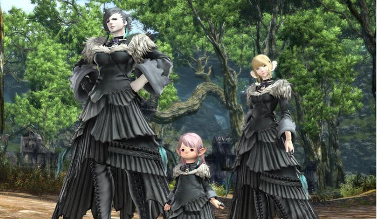 Final Fantasy XIV Y'shtola Attire