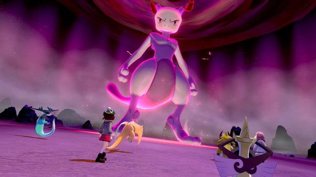 Pokemon Mewtwo Max Raid
