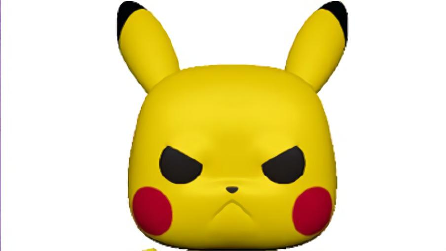 funko pop pokemon angry pikachu 1