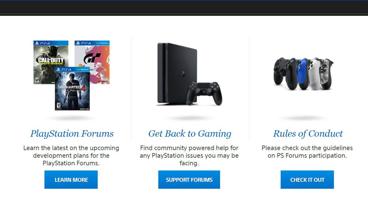 playstation forums