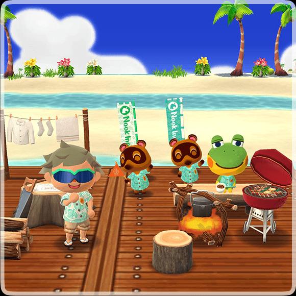 Animal Crossing Pocket Camp Crossover Event