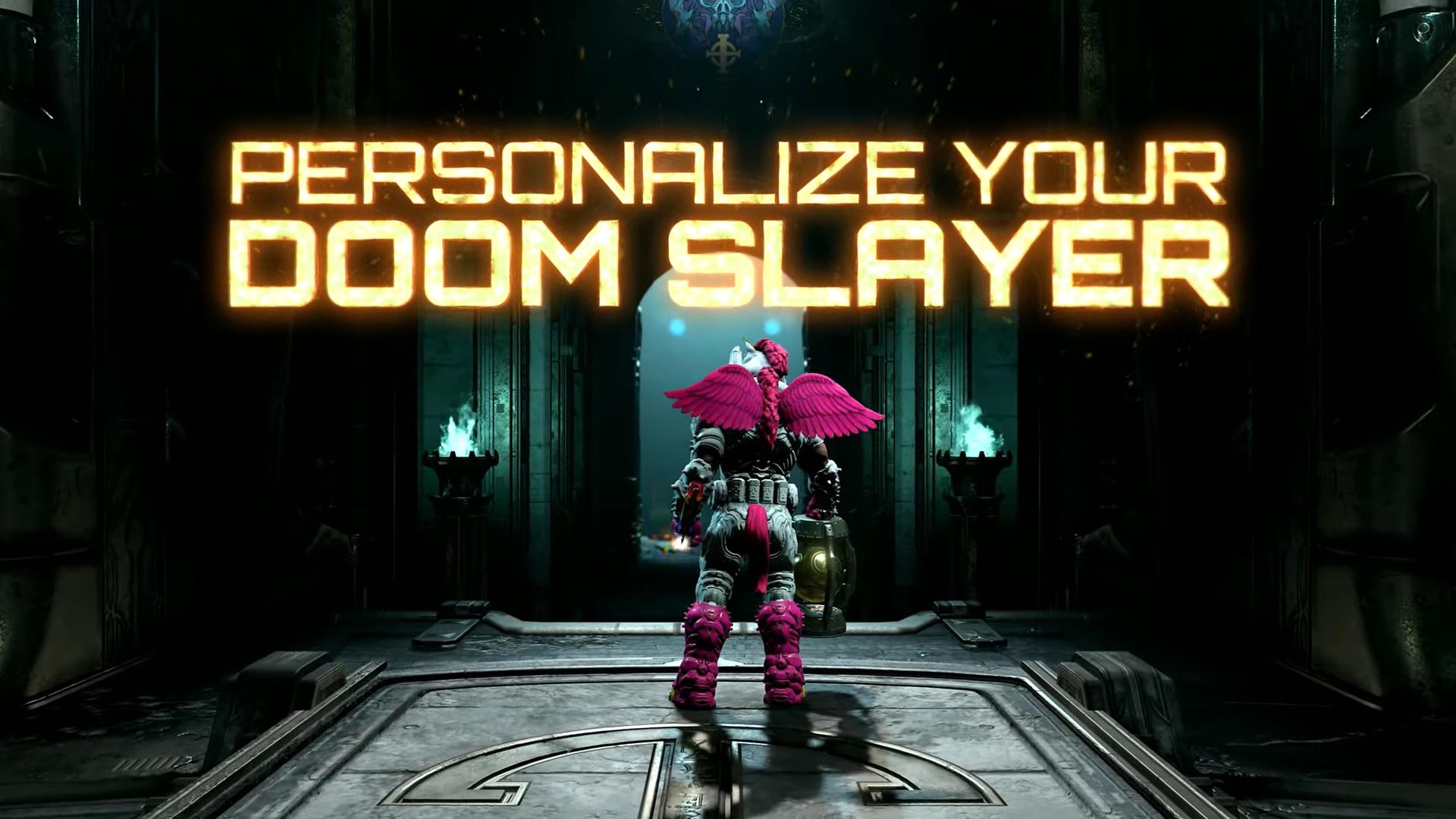 Get A Better Look At Some Doom Eternal Doom Slayer Skins Siliconera