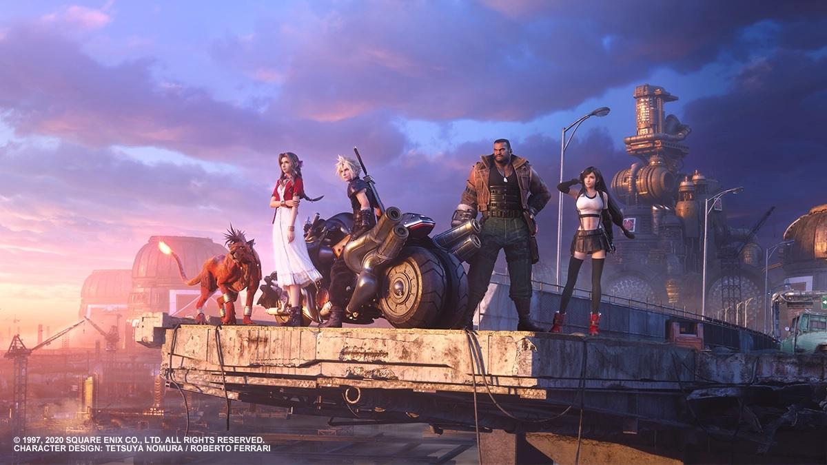 final fantasy vii remake playstation 4 theme 2