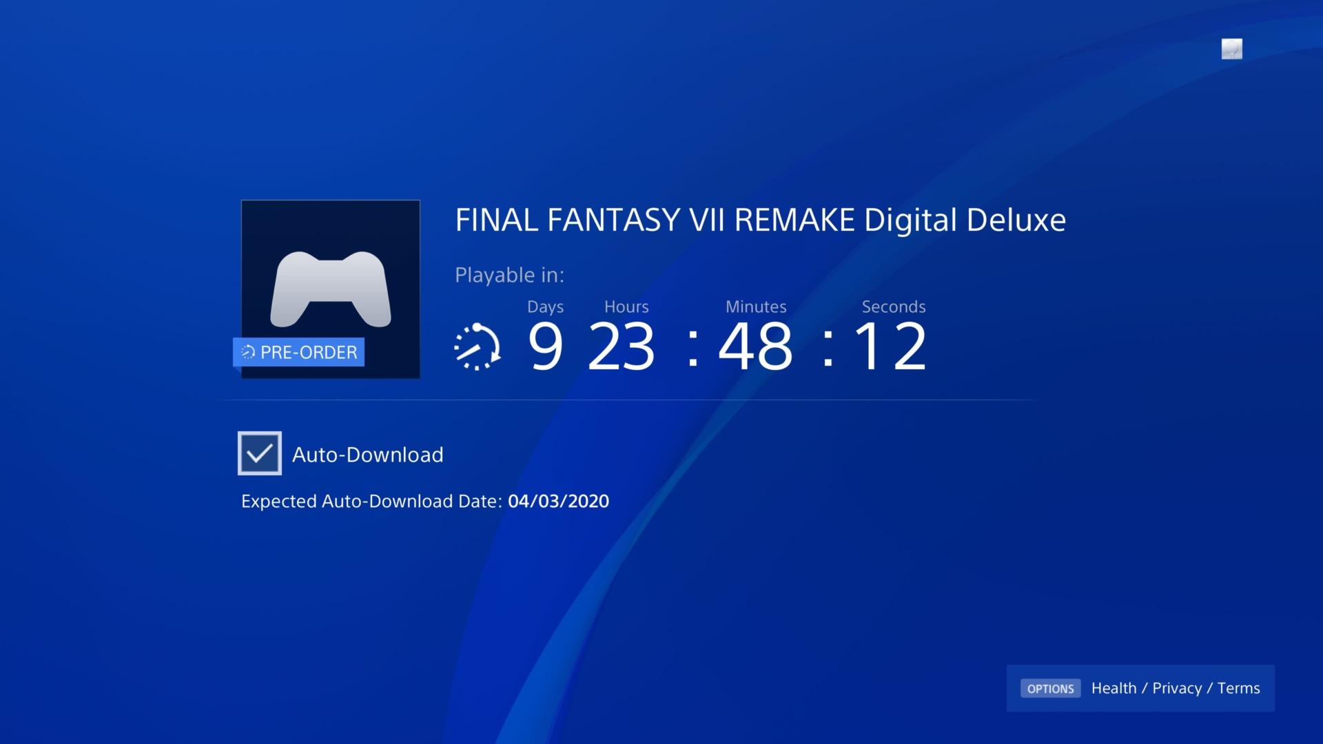 final fantasy vii remake preload 2 final fantasy 7 remake preload