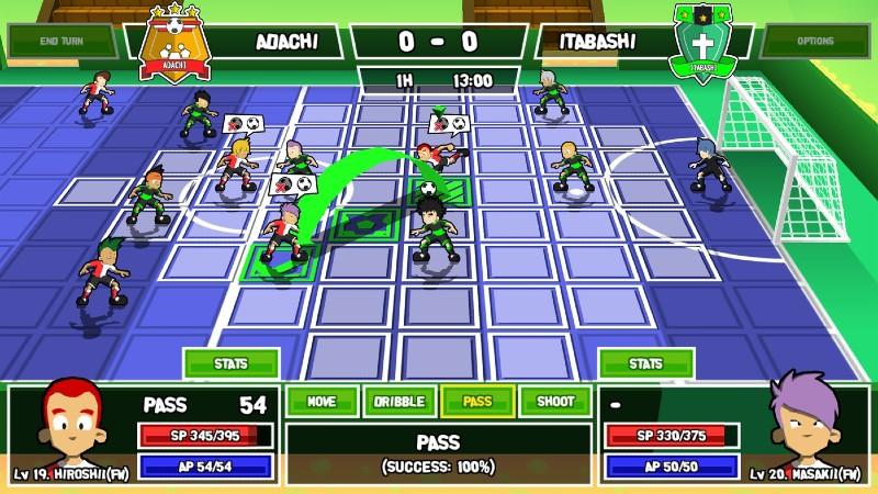 ganbare super strikers playtest 1