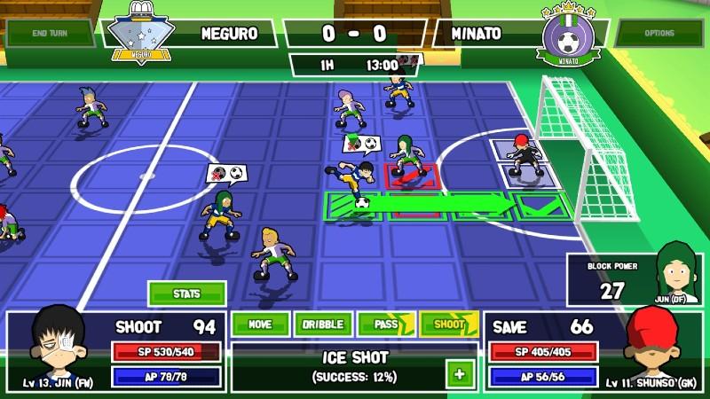 ganbare super strikers playtest 2