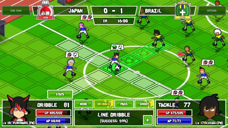 ganbare super strikers playtest 3